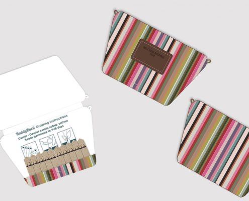 Bag -branded matchbook garden