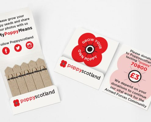 Poppy Scotland Seedsticks