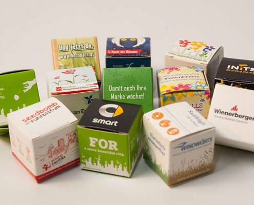 Promotional Seeds - Eco friendly promotional products
