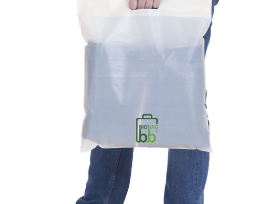 Cutom printed Biodegradable Carrier Bags