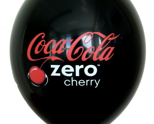 Coca Cola Zero Cherry - Promotional Balloon by Buddy Burst4