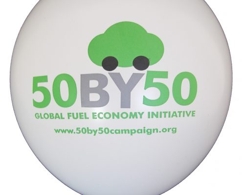50 by 50 - Promotional Balloon by Buddy Burst - Biodegradable