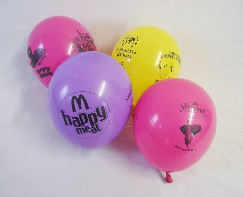 McDonalds Happy Meal Balloons by Buddy Burst- Biodegradable Balloons printed for business