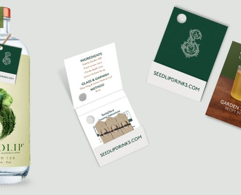 Promotional Seedsticks - Branded Matchbook Garden