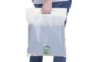 Custom Printed Biodegradable Carrier Bags