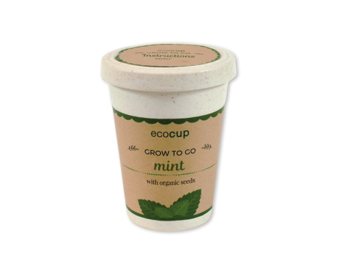 Eco Cup - Plantable pot with seeded paper