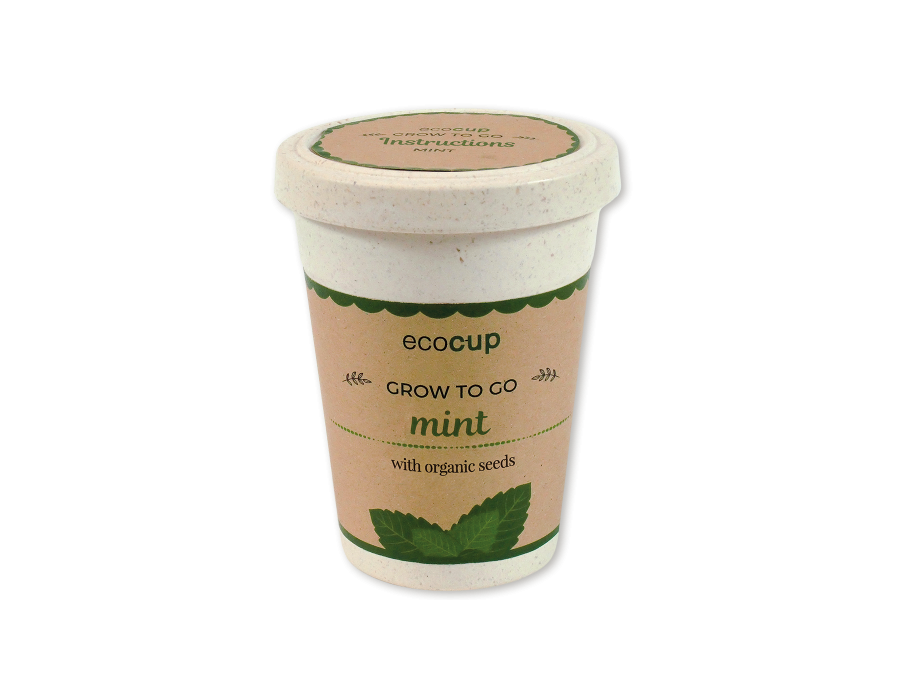 Eco Cup | Branded Seed Cup | Promotional Plant Pots & Seed