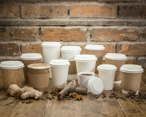 Print On Compostable Coffee Cups Made From Vegware