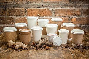 Custom-printed Biodegradable Coffee Cups
