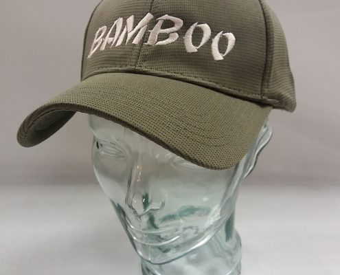 Promotional Bamboo Charcoal Caps - Grey
