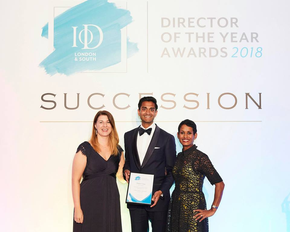 Buddy Burst wins IoD Award