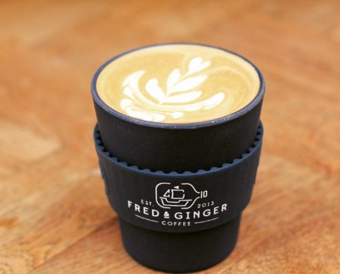 Fred & Ginger Coffee - Custom Reusable Coffee Cup