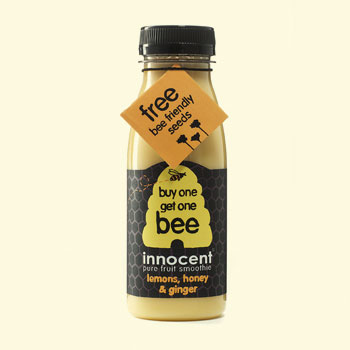 Seed Packets - Hangtag on Innocent Drinks