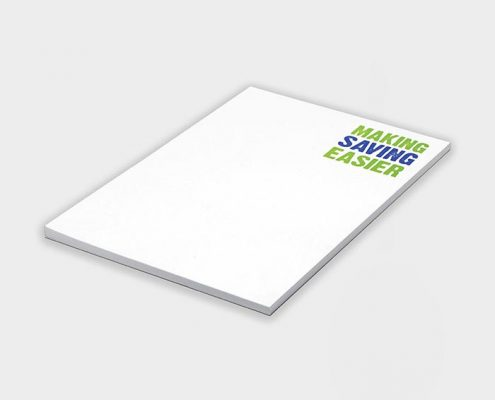 Recycled Branded Note Pad - A5