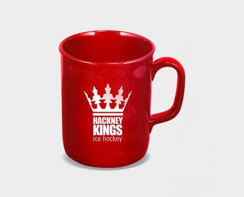 Recycled Promotional Mugs - Red