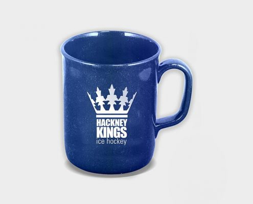 Recycled Promotional Mugs - Blue