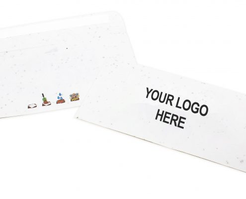 Seed Paper Custom Envelope - Printed with Your Logo Here
