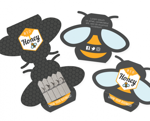 Honey Bee Pack -Seedstick Shapes
