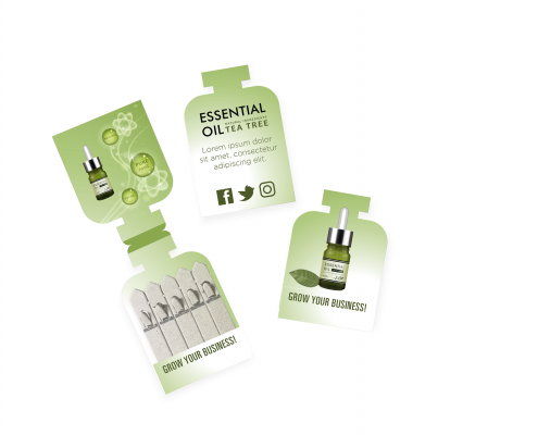 Mini Apothecary Bottle Pack - Seedstick Shapes