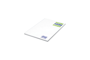 Recycled Branded Notepad Custom Printed for the Halifax Bank