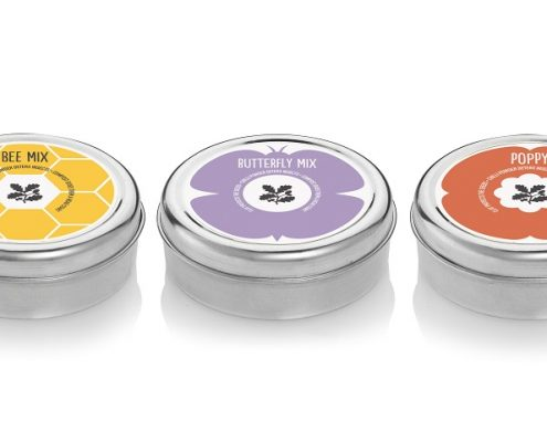 Seedball Tins Custom Printed