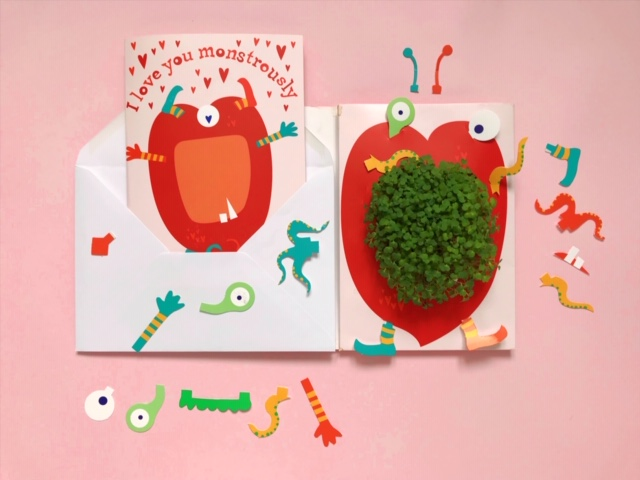 Growing Greetings - Valentine's Day Cards