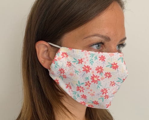 Reusable Face Masks - Custom Printed