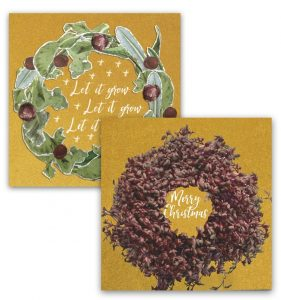 Corporate Christmas Cards : Eco-Friendly Growing Greetings Cards
