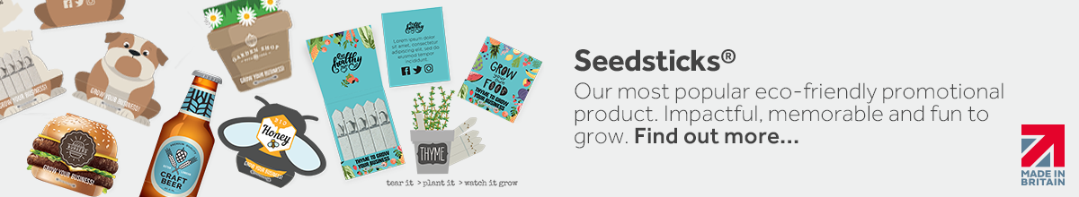 Seedsticks - Sustainable Promotional Product